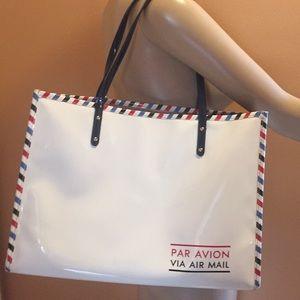 Kate Spade Par Avion Air mail tote